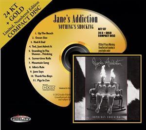 Jane's Addiction - Nothing's Shocking - 24 Karat Gold CD HDCD