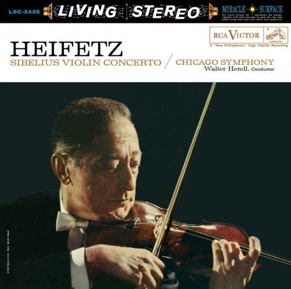 Sibelius Violin Concerto in D Minor Hybrid-Multichannel-SACD