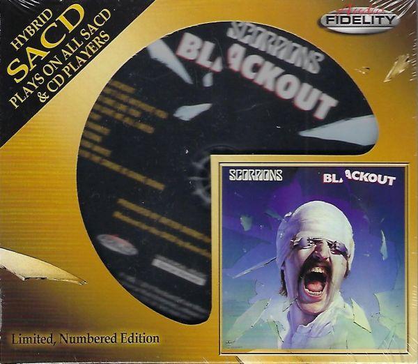 Scorpions Blackout Hybrid SACD