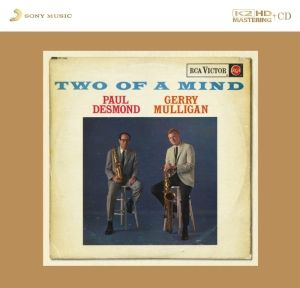 Paul Desmond & Gerry Mulligan Two Of A Mind K2HD