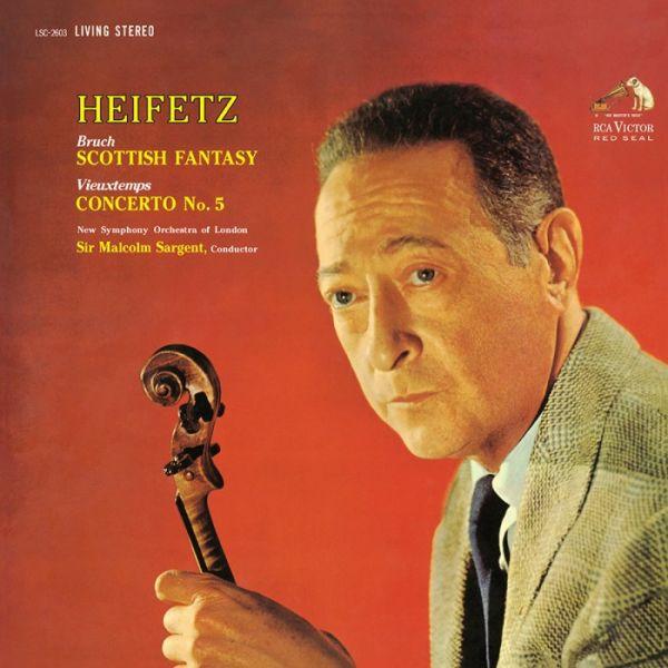 Heifetz Concerto No.5 Bruch Scottish Fantasy Hybrid SACD