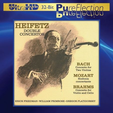 Jascha Heifetz - Double Concertos Ultra-HD-CD