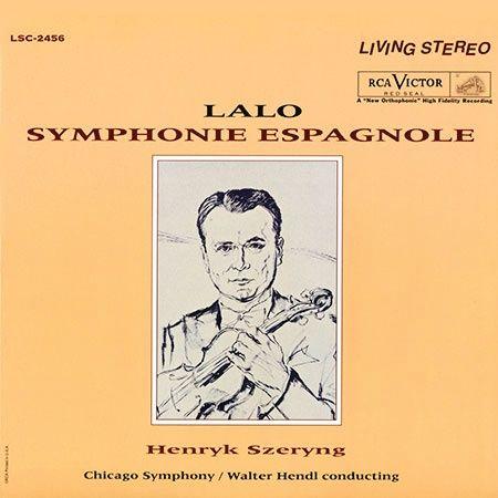 Walter Hendl & Chicago Symphony Henryk Szeryng Lalo Symphonie Espagnole