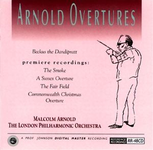 Reference Recordings HDCD - Malcolm Arnold & The London Philharm