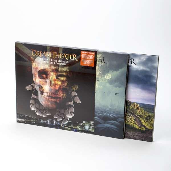 4LP Dream Theater Distant Memories Live in London