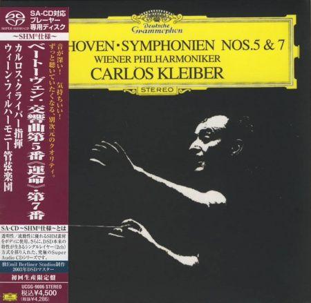 Carlos Kleiber & Wiener Philharmoniker Beethoven Symphonien No 5 & 7 SHM-SACD