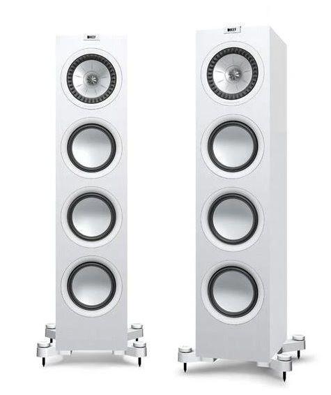 KEF Q750 Weiß Vorführlautsprecher