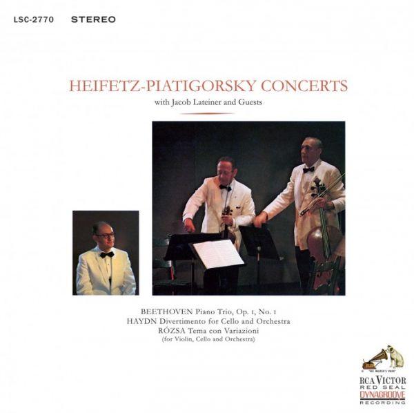 Heifetz Piatigorsky - Concerts Hybrid-SACD , HDCD