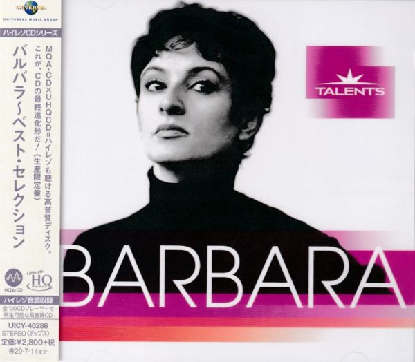 Barbara – Best Selection UHQCD