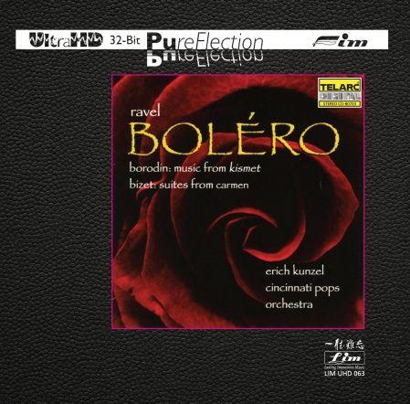 Erich Kunzel & Cincinnati Pops Orchestra Ravel Bolero Ultra-HD-CD