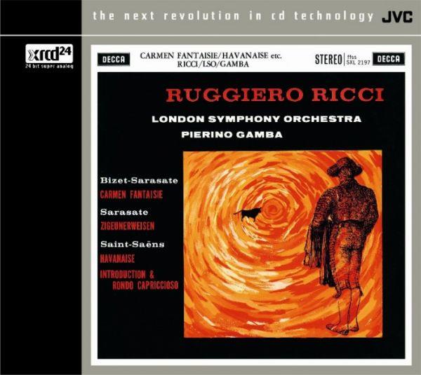 Pierino Gamba & London Symphony - Carmen Fantaisie - XRCD24