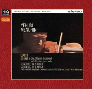 Yehudi Menuhin Bach Violin Concertos XRCD24