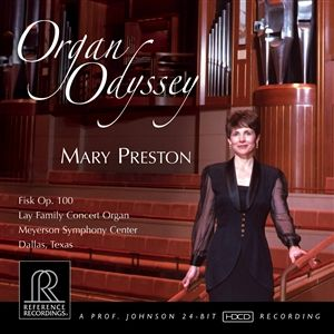 Reference Recordings - Mary Preston - Organ Odyssey