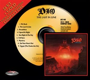 Dio - The Last in Line - 24 Karat Gold CD