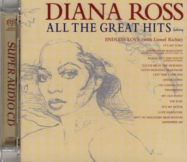 Diana Ross - All The Great Hits Hybrid-SACD