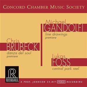 Concord Chamber Music Society - Gandolfi Brubeck Foss