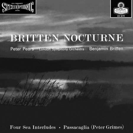 Benjamin Britten Nocturne Doppel LP Vinyl