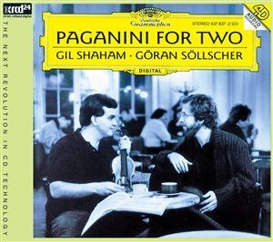 Gil Shaham & Göran Söllscher: Paganini for Two - XRCD24