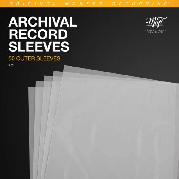 MFSL Archival Record Sleeves - LP Außenenhüllen - 50 Stck.