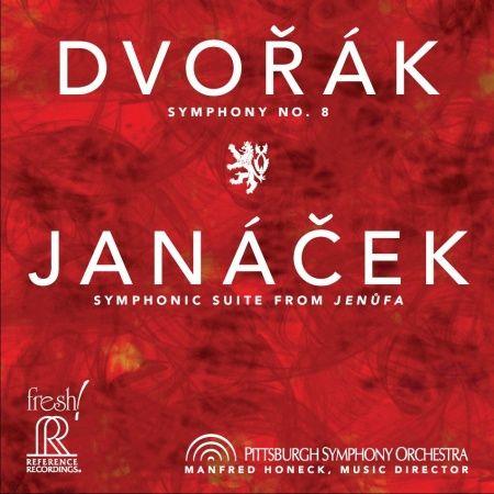 Dvorak Symphony No. 8 & Janacek: Symphony Suite from Jenufa