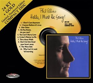 Phil Collins - Hello, I Must Be Going! - 24 Karat Gold CD