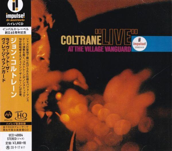 John Coltrane – Live At The Village Vanguard UHQCD