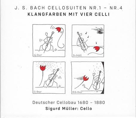 CD J.S. BACH CELLOSUITEN NR.1 - NR.4