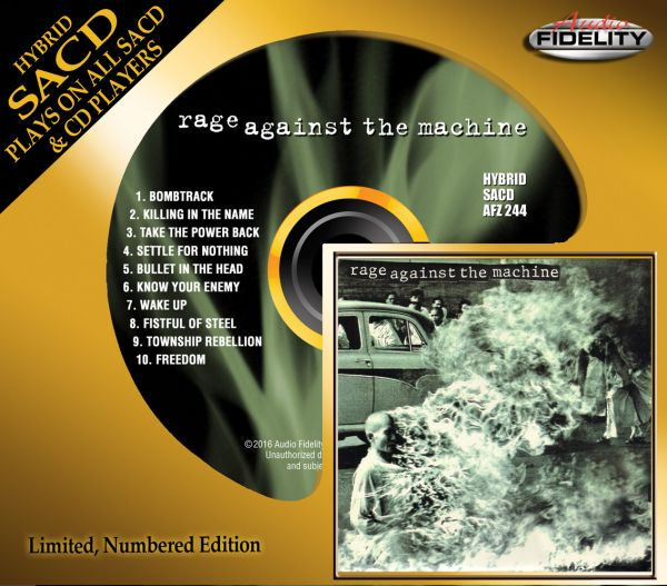 Rage Against the Machine Hybrid SACD