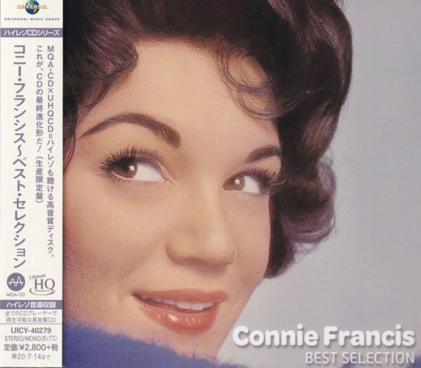 Connie Francis – Best Selection UHQCD
