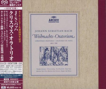 Karl Richter Johann Sebastian Bach Weihnachts-Oratorium Platinum-SHM-CD