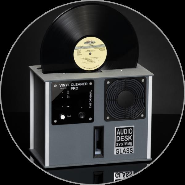 Audiodesksysteme Gläss Vinyl Cleaner Pro X Grau