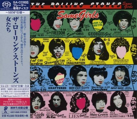 The Rolling Stones - Some Girls SHM-SACD