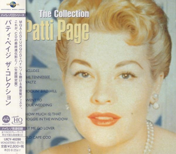 Patti Page – Best Selection UHQCD