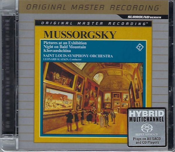 MFSL Mussorgsky - Pictures at an Exhibition