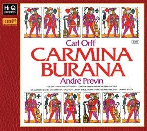 Carl Orff Carmina Burana - André Previn & London Symphony Orchestra