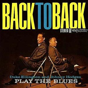 Duke Ellington and Johnny Hodges Back To Back Hybrid SACD