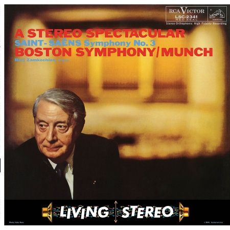 Charles Munch Saint Saëns Symphony No.3 in C minor Hybrid Multichannel SACD