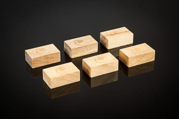 Cardas Myrtleholz Gerätefuss Small