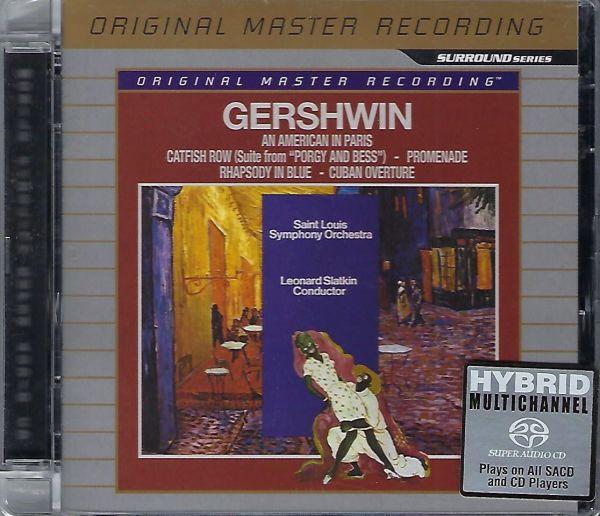 MFSL Gershwin An american in paris