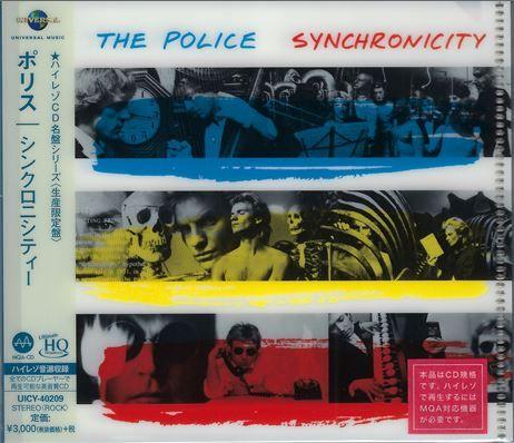 The Police Synchronicity UHQCD - Platinum-SHM-CD