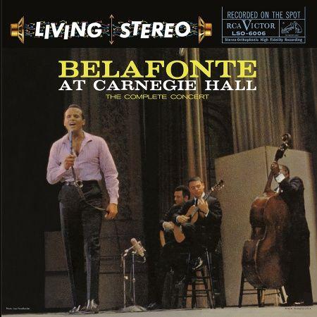Harry Belafonte Live at Carnegie Hall Hybrid Multichannel SACD