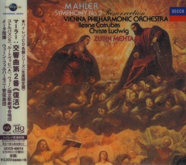 Zubin Mehta & Vienna Philharmonic Orchestra Mahler: Symphony No.2 UHQCD