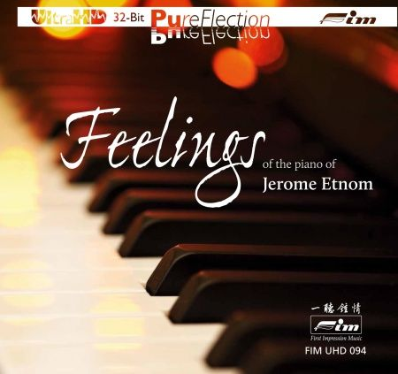 Feelings of the Piano of Jerome Etnom Ultra-HD-CD