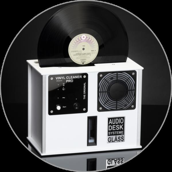 Audiodesksysteme Gläss Vinyl Cleaner Pro X Weiß