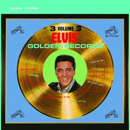 Elvis Presley Golden Records Vol. 3 180g Vinyl Doppel-LP