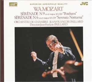 Paillard: Mozart - Serenade No. 9 & No. 6 - XRCD24