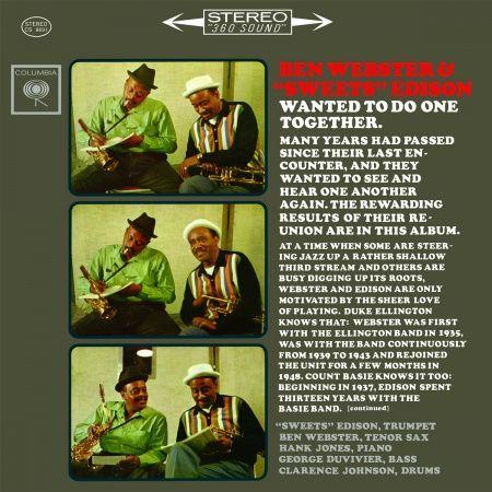 """Ben Webster & """"Sweets"""" Edison Hybrid SACD"""