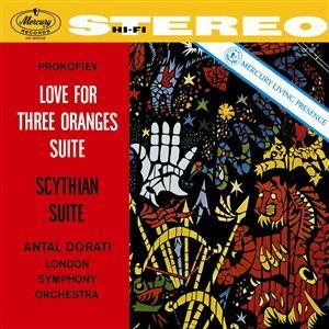 Prokofiev Love for Three Oranges Suite Scythian Suite 180g Vinyl Doppel-LP