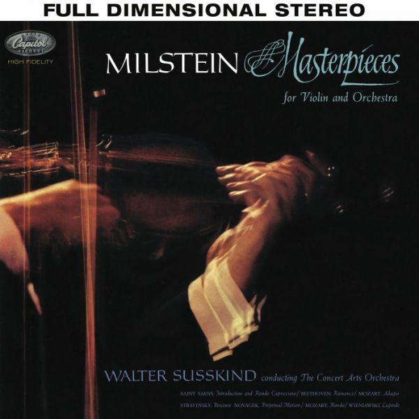 Nathan Milstein - Masterpieces for Violin and Orchestra Hybrid SACD