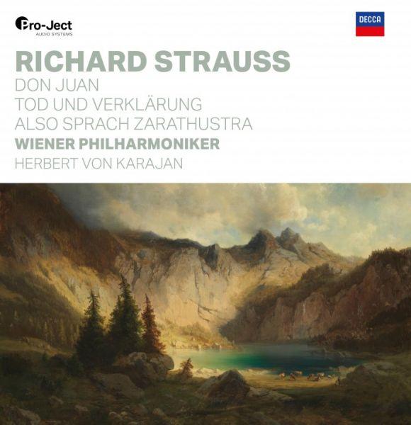 Herbert von Karajan & Wiener Philharmoniker – Richard Strauss: Don Juan, Tod und Verklärung, Also sp